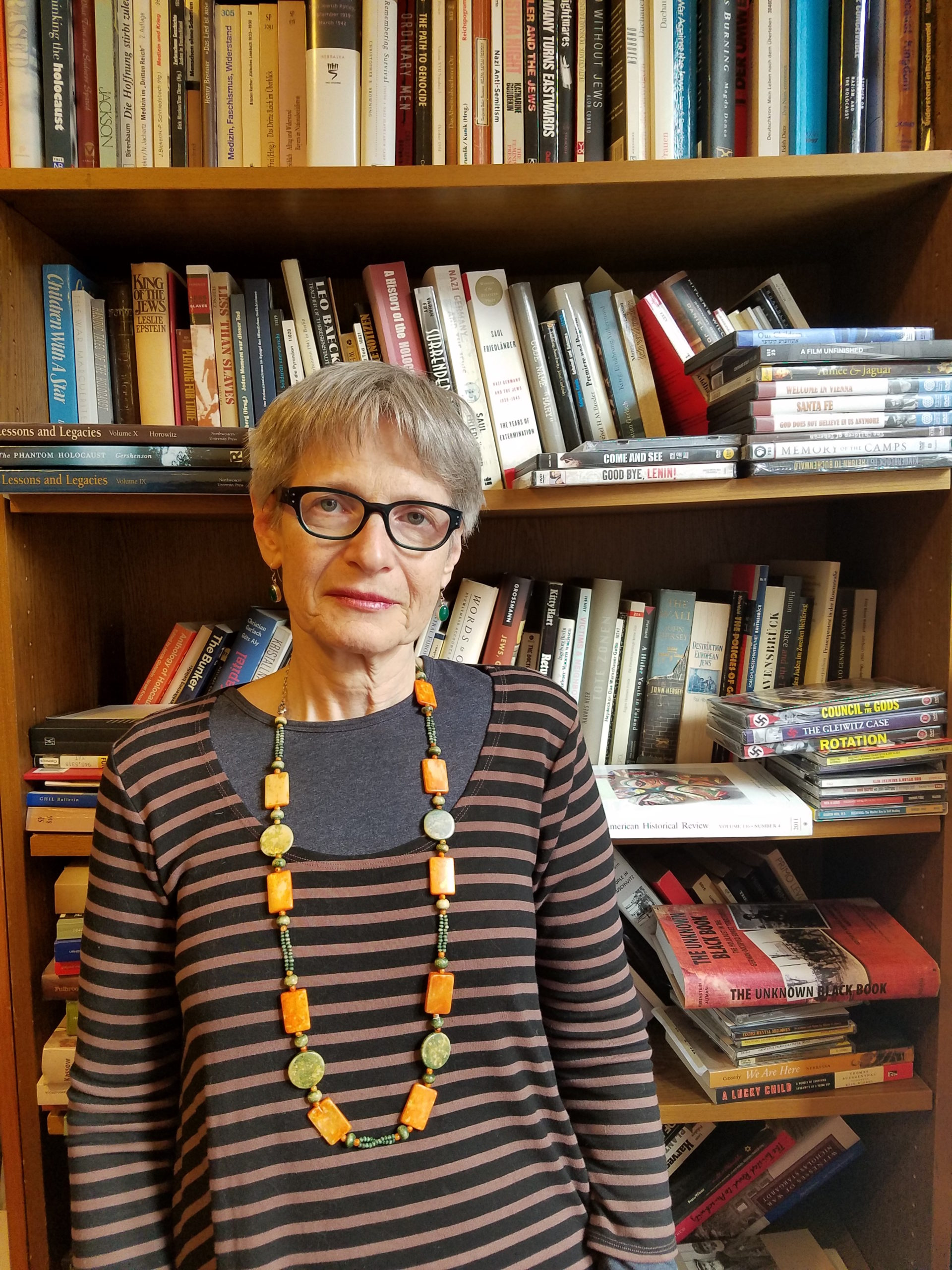 Atina Grossmann, Professor of History at the Cooper Union in New York City.