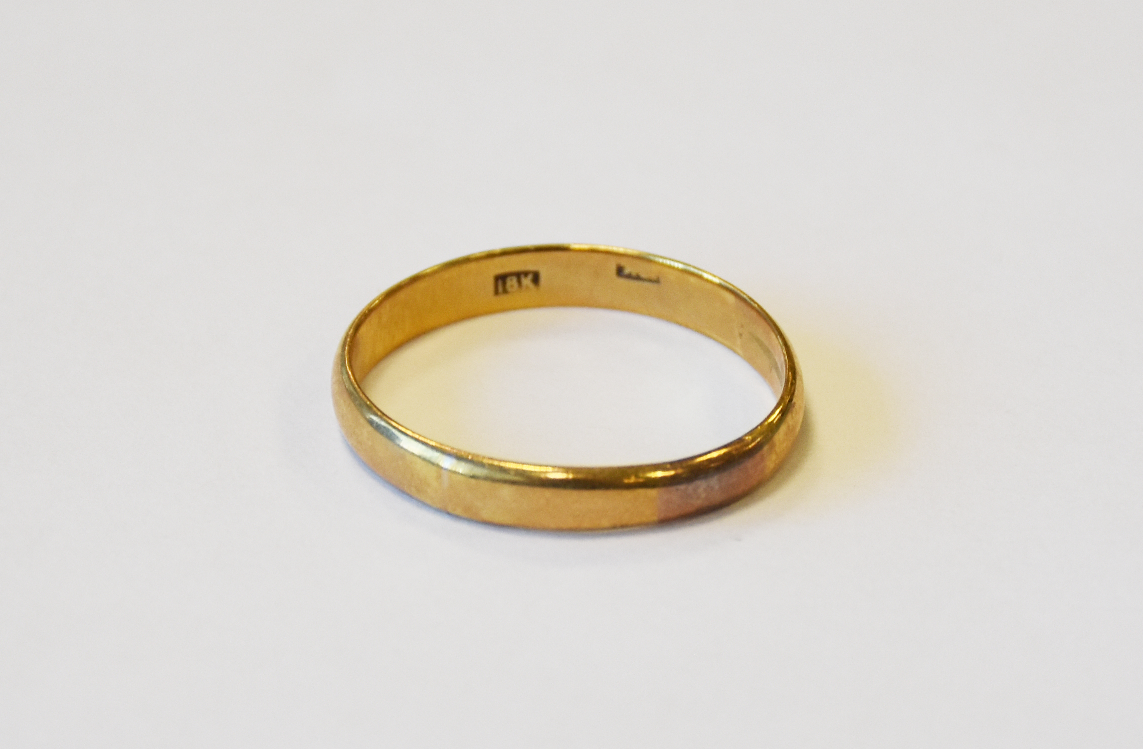 Wedding ring found at Dachau Concentration Camp. (Holocaust Memorial Center Permanent Collection)