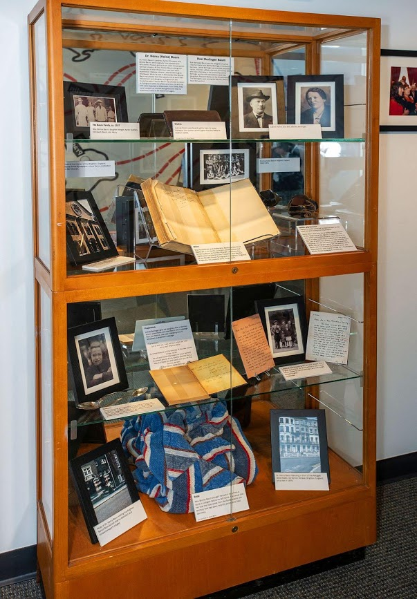 Artifacts from Michigan residents who were on the Kindertranspirt as children. Curated by Feiga Weiss.